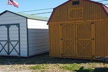 Outdoor portable shed